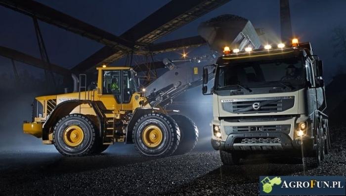 Zdjęcia maszyn budowlanych