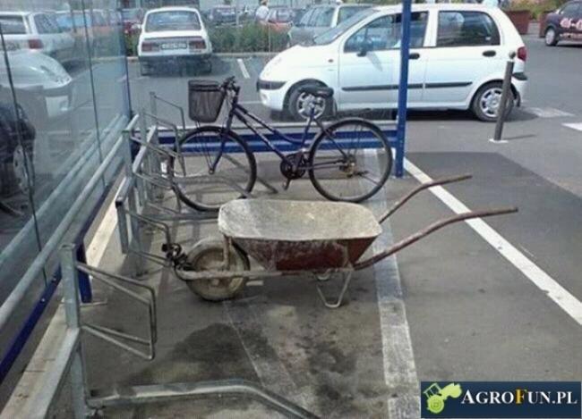 Przystanek rowerowy czy taczkowy