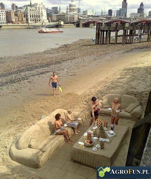 Na plazy fajnie jest