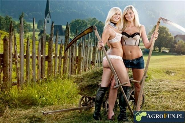 Modelki na wsi