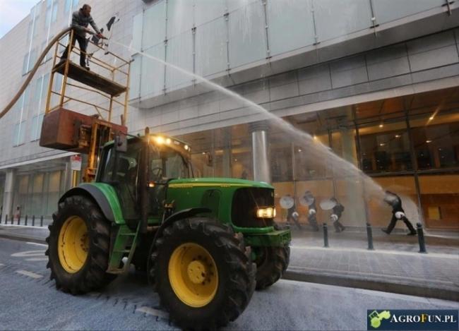 Polowanie z traktora
